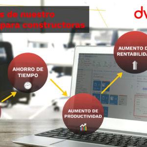 dvproject beneficios del software erp para constructoras
