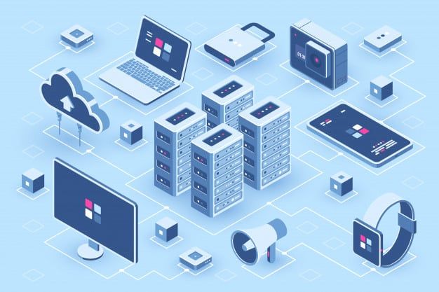 Tecnología dvproject infraestructura tecnologica de servidores y equipos conectados