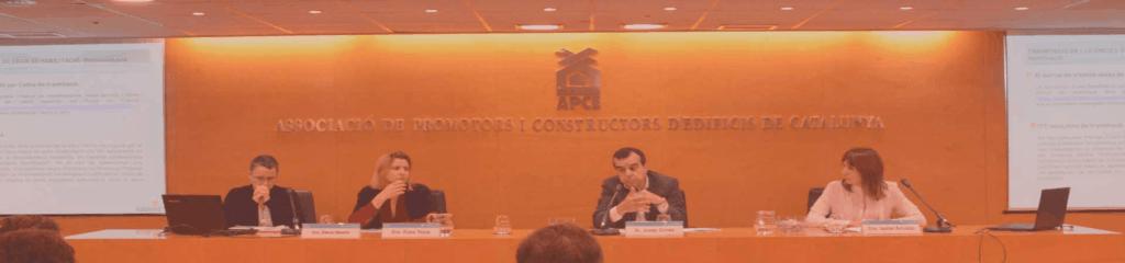 Evento organizado por APCE BCN soluciones de tecnología inmobiliaria