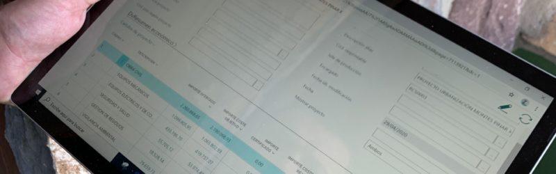 Software ejecución obra. dvproject